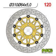 Brzdový kotouč NG 210.120 přední levý/pravý