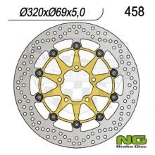 Brzdový kotouč NG 210.458 přední levý/pravý