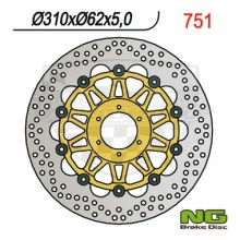 Brzdový kotouč NG 210.751 přední levý/pravý