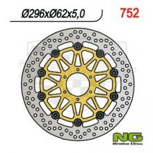 Brzdový kotouč NG 210.752 přední levý/pravý