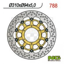 Brzdový kotouč NG 210.788 přední levý/pravý