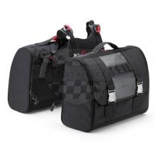 Givi CL 503 / GP 103 boční brašny na sedlo, textilní, 2x17 l., černé (řada CLASSICS)