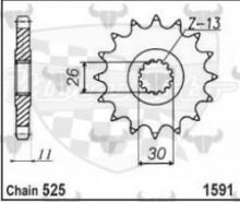 kolečko přední 1591