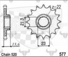 kolečko přední 577