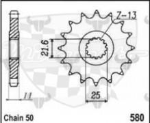 kolečko přední 580