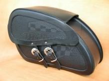 Kožené boční brašny na motocykl Dark 16