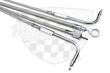 Lanko plynové opletené prodloužené otevírací Yamaha XV 1600