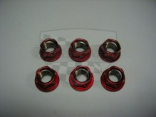 Matky na rozetu 10mm SPN10R červené