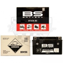 Moto baterie BS Battery YTX7A-BS 300619