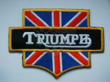 Nášivka,nažehlovačka - 6 Triumph