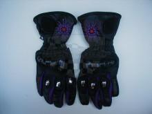 Dámské rukavice POISON black/purple
