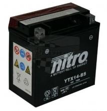 Moto baterie Nitro YTX14-BS