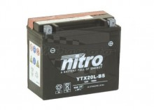 Moto baterie Nitro YTX20L-BS