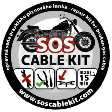 Opravná sada lanek SOS cable kit