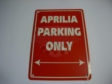 Parkovací cedule Aprilia parking only