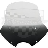 "Plexi chopper Memphis Shades Sportshield SPEED DEMON Black 9"" 23130090"
