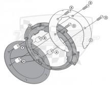 Quicklock / Tanklock kroužek Givi / Kappa BF 08   Ducati Monster S2R,S4R,1000,ST2,ST4,848,1098,1198