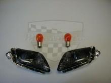 Tmavá sklíčka PD 0537 Honda CBR 1100 XX Blackbird