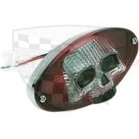 Zadní světlo Skull 3D 09021242 Lebka Drag specialties